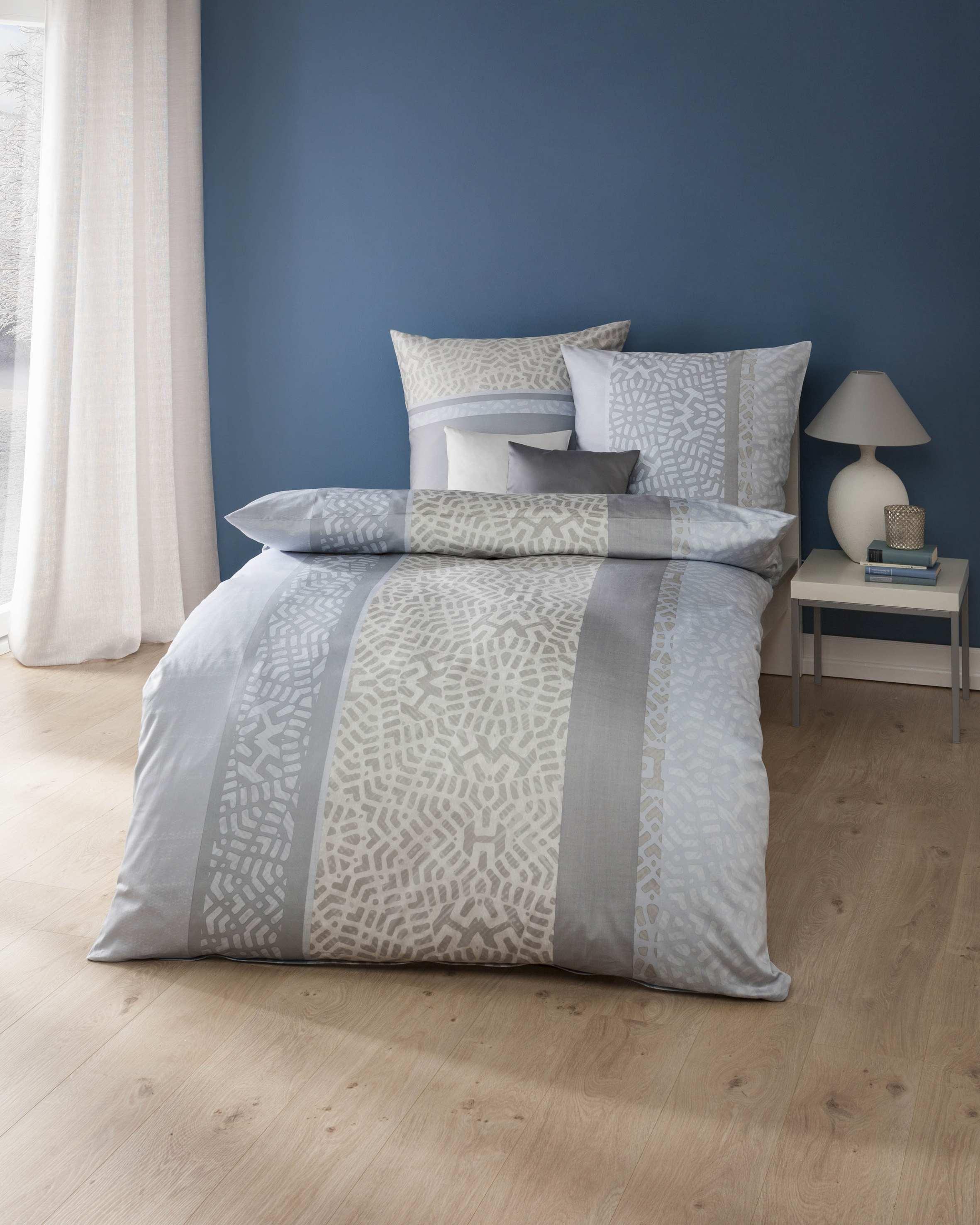 mako satin bettw sche 842 taube grau g nstig auf rechnung. Black Bedroom Furniture Sets. Home Design Ideas