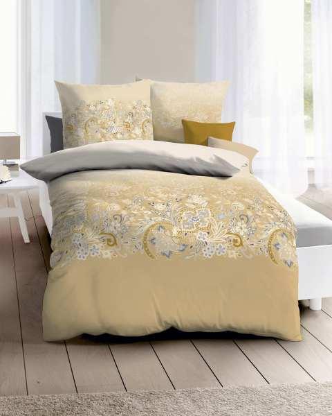Biber Bettwäsche gold