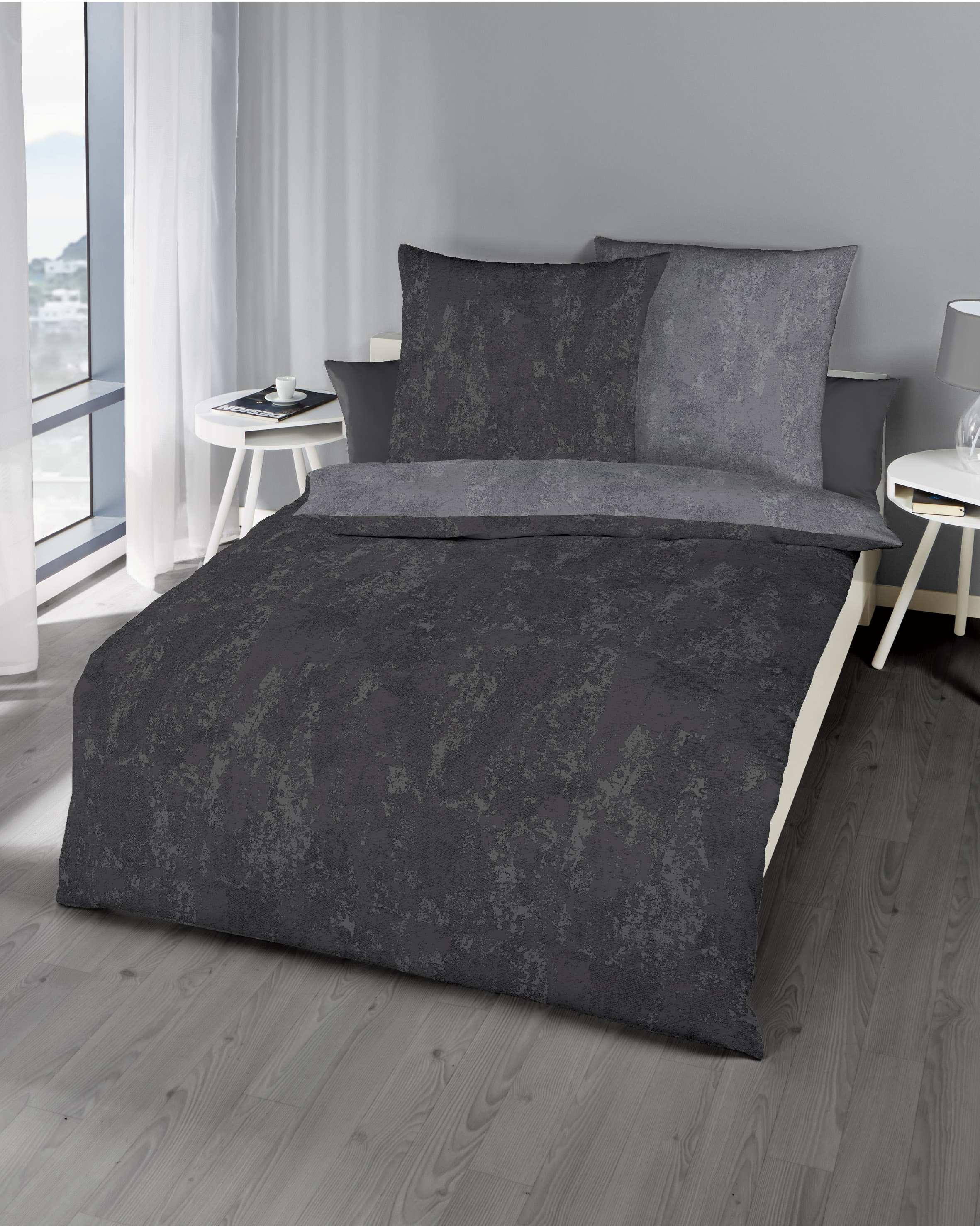 mako satin bettw sche qualit t zinn grau g nstig kaufen. Black Bedroom Furniture Sets. Home Design Ideas