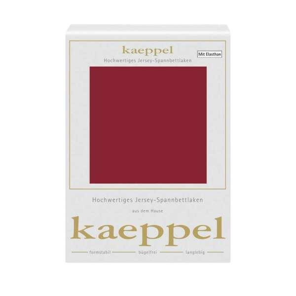 Spannbettlaken Jersey Elastan klassisch rot